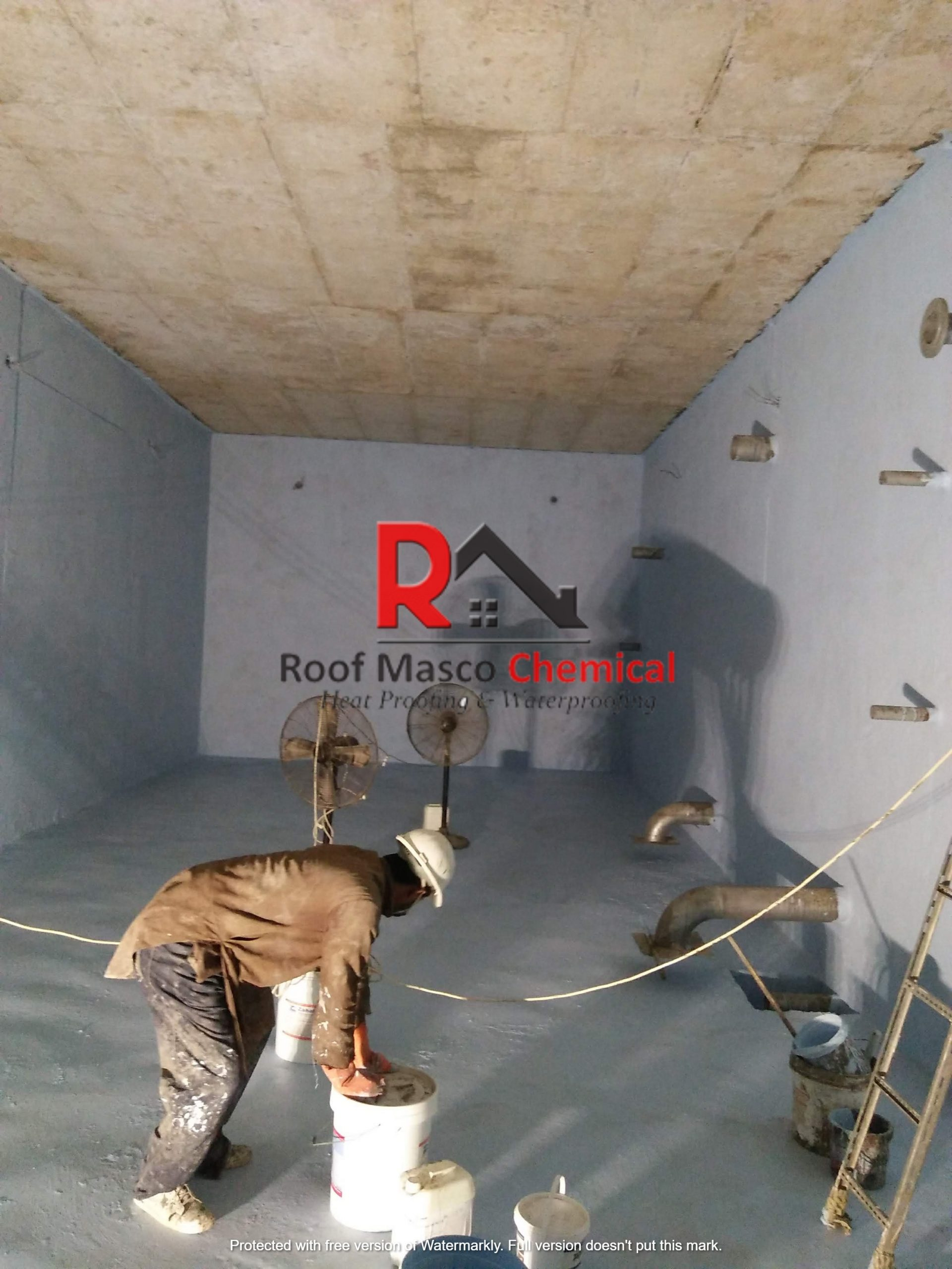 Water Tank Leakage Roof Waterproofing Services Roofs